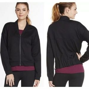 Fabletics Black Jacket |  Size M